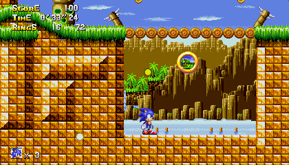 Sonic Classic 2 Circus City Video Update