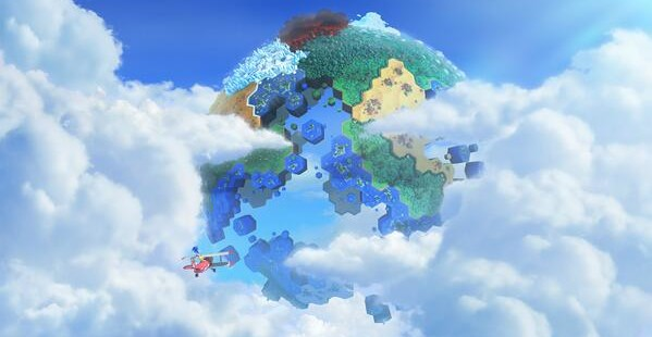 Sonic Lost World Sky Road & Lava Mountain Gameplay