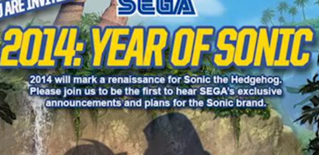 """Year of Sonic"" Event to Be Held Tomorrow"