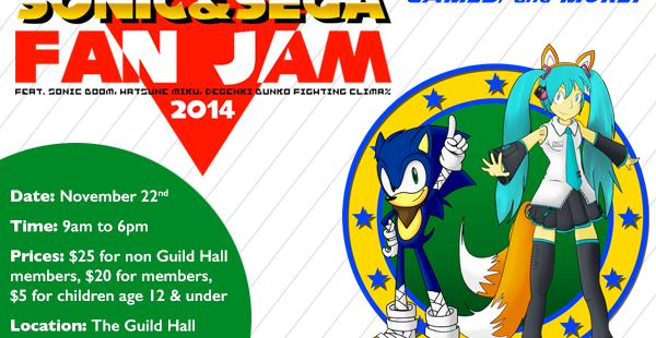 SEGABits' Sonic & SEGA Fan Jam Tickets on Sale Now!