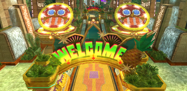 Sonic Colors Hi-Res Screens Part 1: Tropical Resort